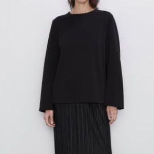 NWT Zara Black Top (AW19)